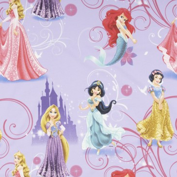 Disney Princess Fabric GLAMOUR.35.140