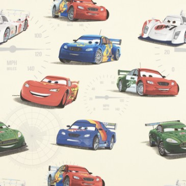 Cars Disney Fabric VELOCITY.11.140