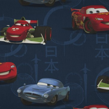 Cars Disney Fabric MCMISSLE.42.140