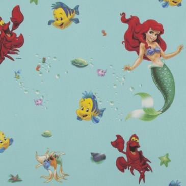 Disney The Little Mermaid Fabric SIRENA.45.140