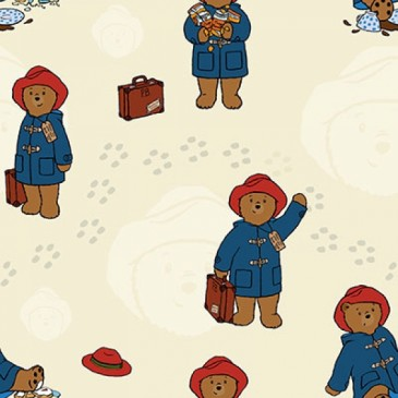 Paddington Bear Fabric DIGTRAVEL.13.140