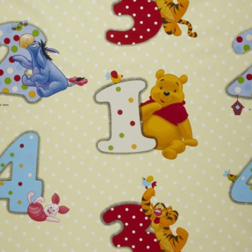 Disney Winnie the Pooh Fabric NUMBER.13.140