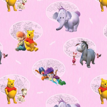 Disney Winnie the Pooh Fabric BUSTER.33.140