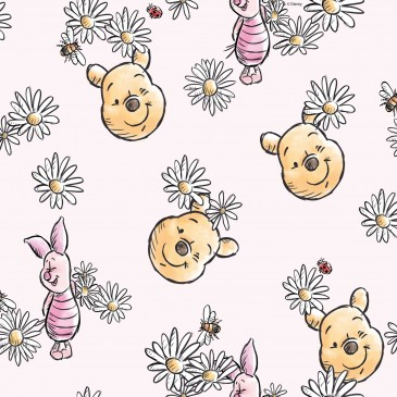 Disney Winnie the Pooh Fabric DAISY.331.140