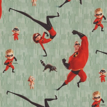 Disney The Incredibles Fabric DIBLE.441.140