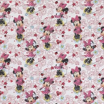 Disney Minnie Mouse Fabric DOODLE.10.140
