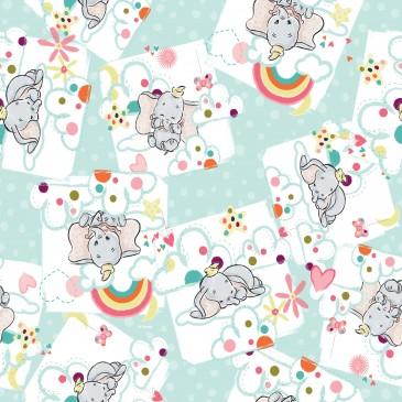 Disney Dumbo Fabric DREAMY.440.140