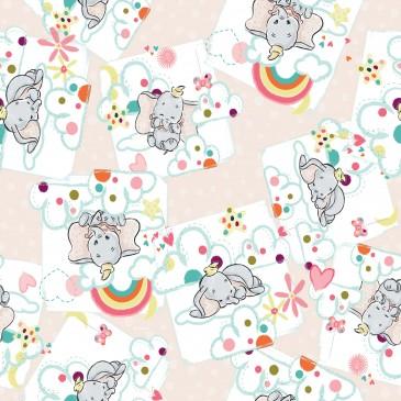 Disney Dumbo Fabric DREAMY.331.140