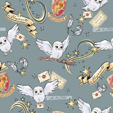 Harry Potter Warner Bros Fabric HEDWIG.550.140