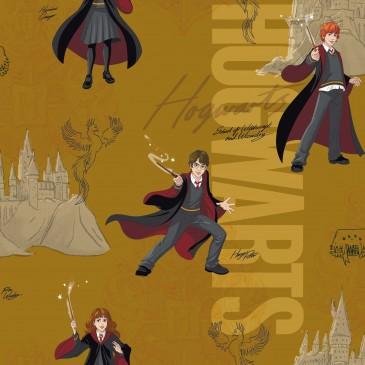 Harry Potter Warner Bros Fabric HPMAGIC.243.140