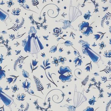 Disney Princess Fabric INDIGO.100.140