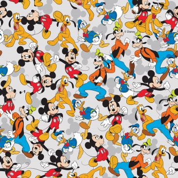 Disney Donald Duck Mickey Mouse Fabric MIXED.530.140