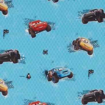 Cars Disney Fabric MUDRACE.400.140