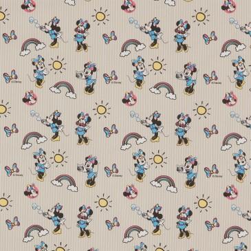 Disney Minnie Mouse Fabric RAINBOW.13.140