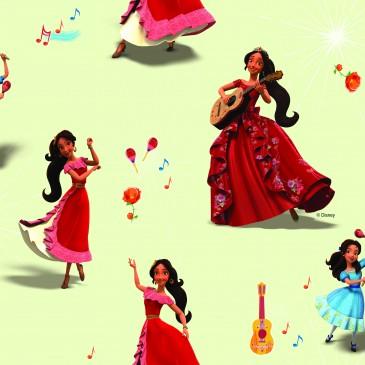 Disney Elena of Avalor Fabric SONIDO.11.140