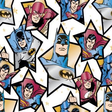 DC Comics Superman Warner Bros Fabric STARHERO.100.140