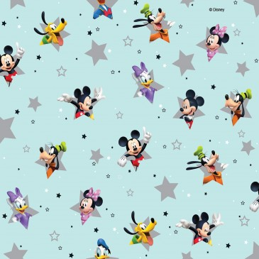 Disney Donald Duck Mickey Mouse Minnie Mouse Fabric SM.STERN.390