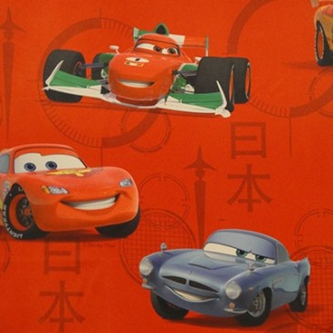 Cars Disney Fabric SUNMISSLE.30.150