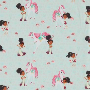 Nella the Princess Knight Nickelodeon Fabric TRINKET.440.140